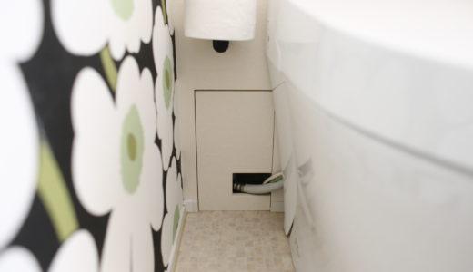 《web内覧会2019》トイレ2 スッキリを目指したトイレ空間と配管隠し 仕様まとめ