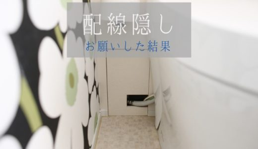 《web内覧会2019》トイレ2 スッキリを目指したトイレ空間と配管隠し